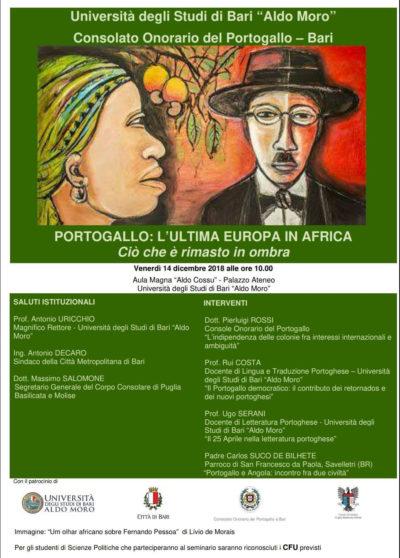 Il Console Pierluigi Rossi e le colonie portoghesi in Africa