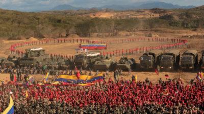 """Arrancan los ejercicios militares """"más importantes"""" de la historia de Venezuela"""