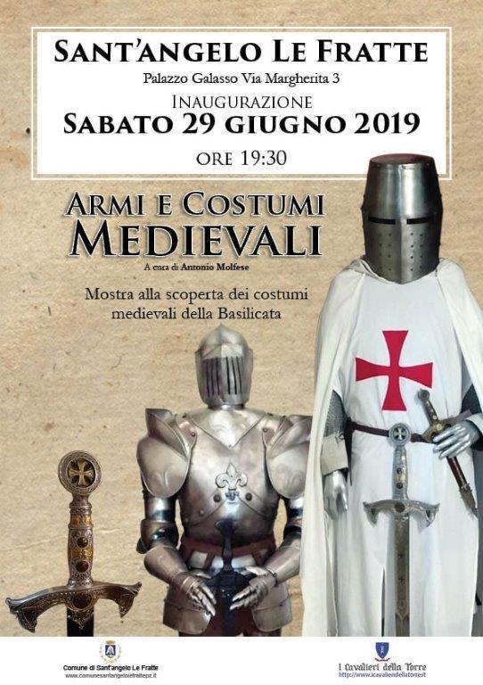 Mostra di armi e costumi medievali a Sant'Angelo Le Fratte (Potenza)