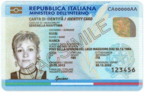 Carta d'identità elettronica per gli italiani all'estero