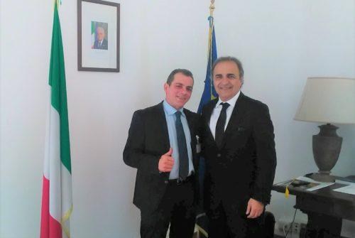 Il sottosegretario Merlo riceve il coordinatore del Maie Ticino Gerolamo De Palma