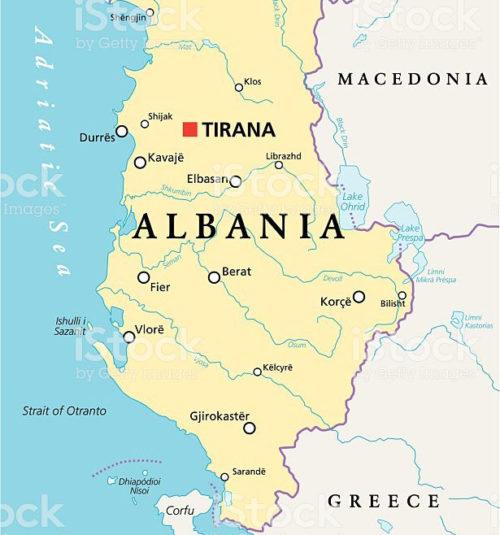 Albania Cartina Stradale.Un Ponte Con L Albania Progetto Radici