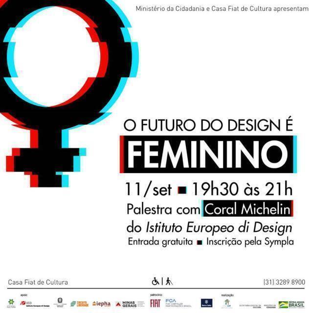 Reflexão sobre o papel das mulheres no design mundial