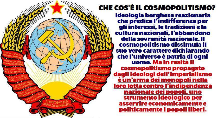La guerra cosmopolitica in atto