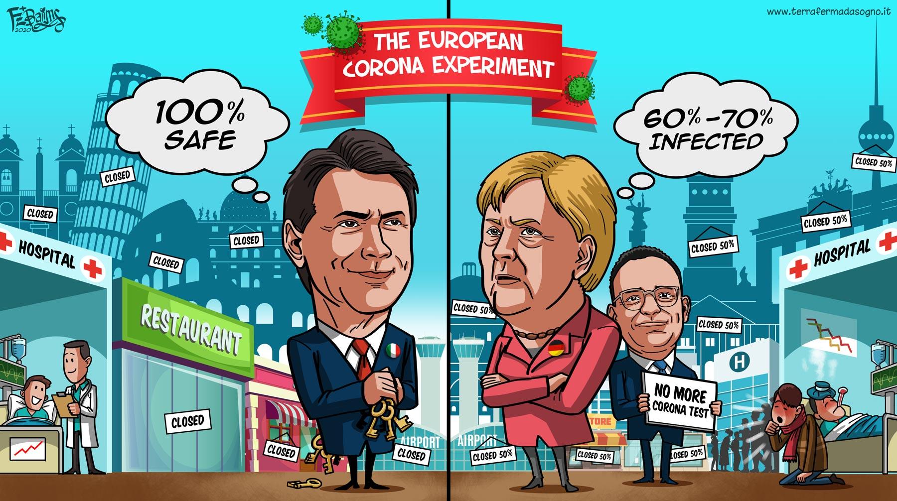 Coronavirus: il ruolo dell'Italia nel contesto europeo