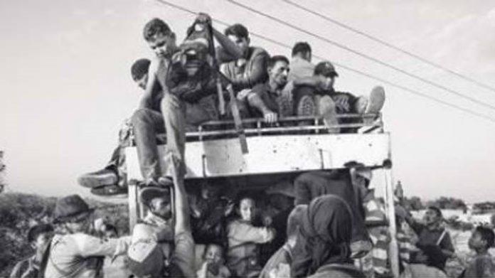 La migración venezolana bajo la lente de un italiano