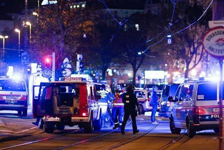 Notte di terrore a Vienna