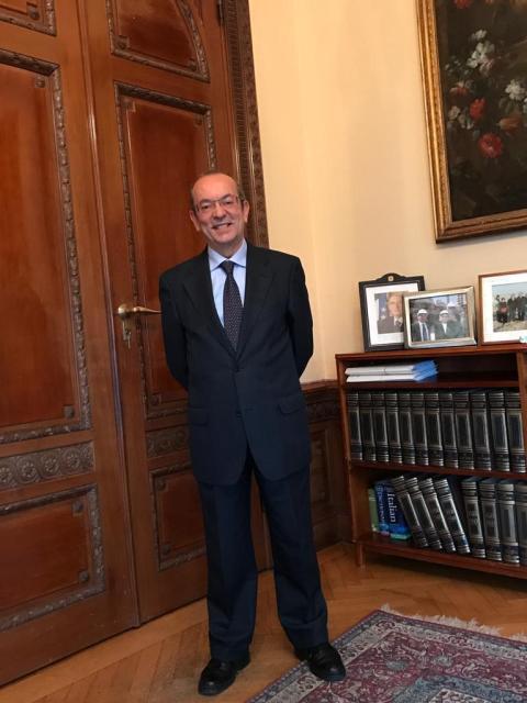 Oggi ti presento:Mario Cospito ambasciatore italiano in Svezia