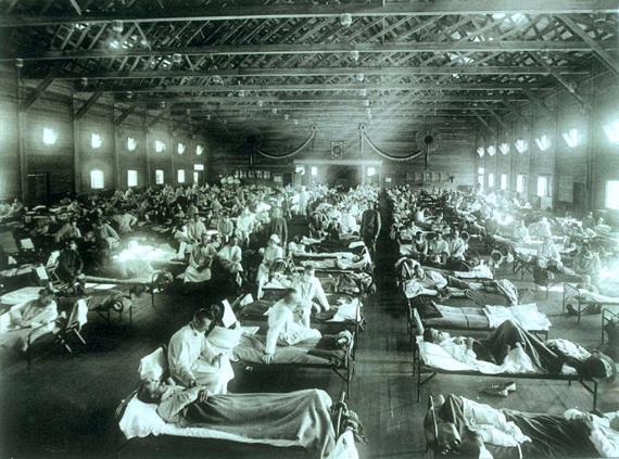 Nel 1918 imperversò una pandemia letale: la cosiddetta influenza spagnola
