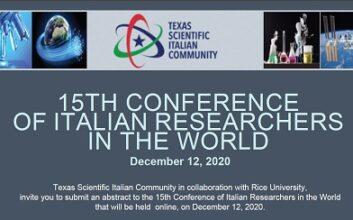 La XV Conferenza dei Ricercatori Italiani nel Mondo