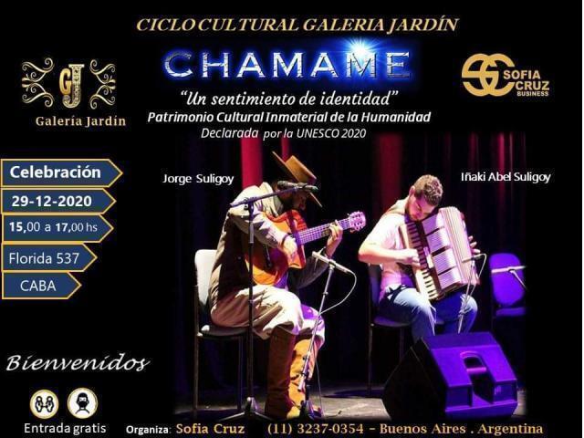 Celebración en el Ciclo Cultural de Galería Jardín Buenos Aires – Argentina