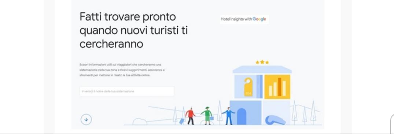 Google sceglie l'Italia per lanciare Hotel Insights