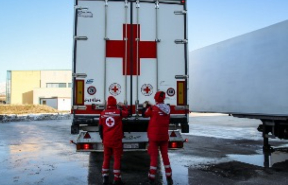 Migranti:la croce Rossa italiana invia aiuti in Bosnia