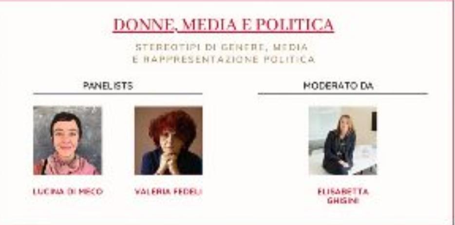 Stereotipi di genere,media e politica:da San Francisco nuovo appuntamento con 'Rete Rosa'