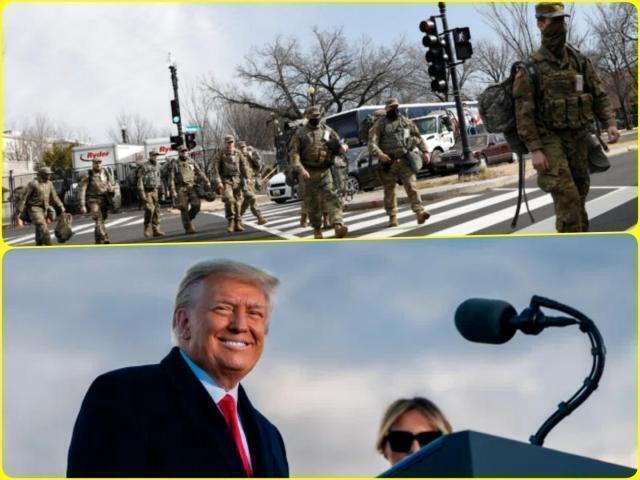 Massiccia presenza della Guardia Nazionale a Washington DC fino a marzo, Trump fonda una nuova amministrazione