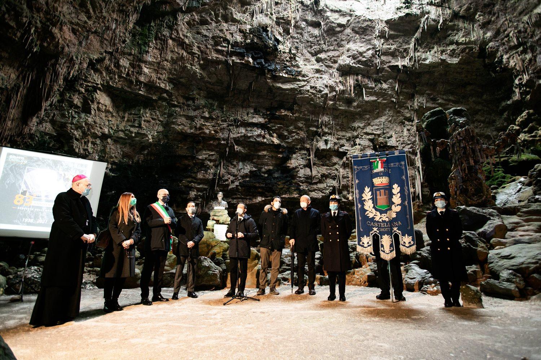 Grotte di castellana, celebrati 83 anni dalla scoperta