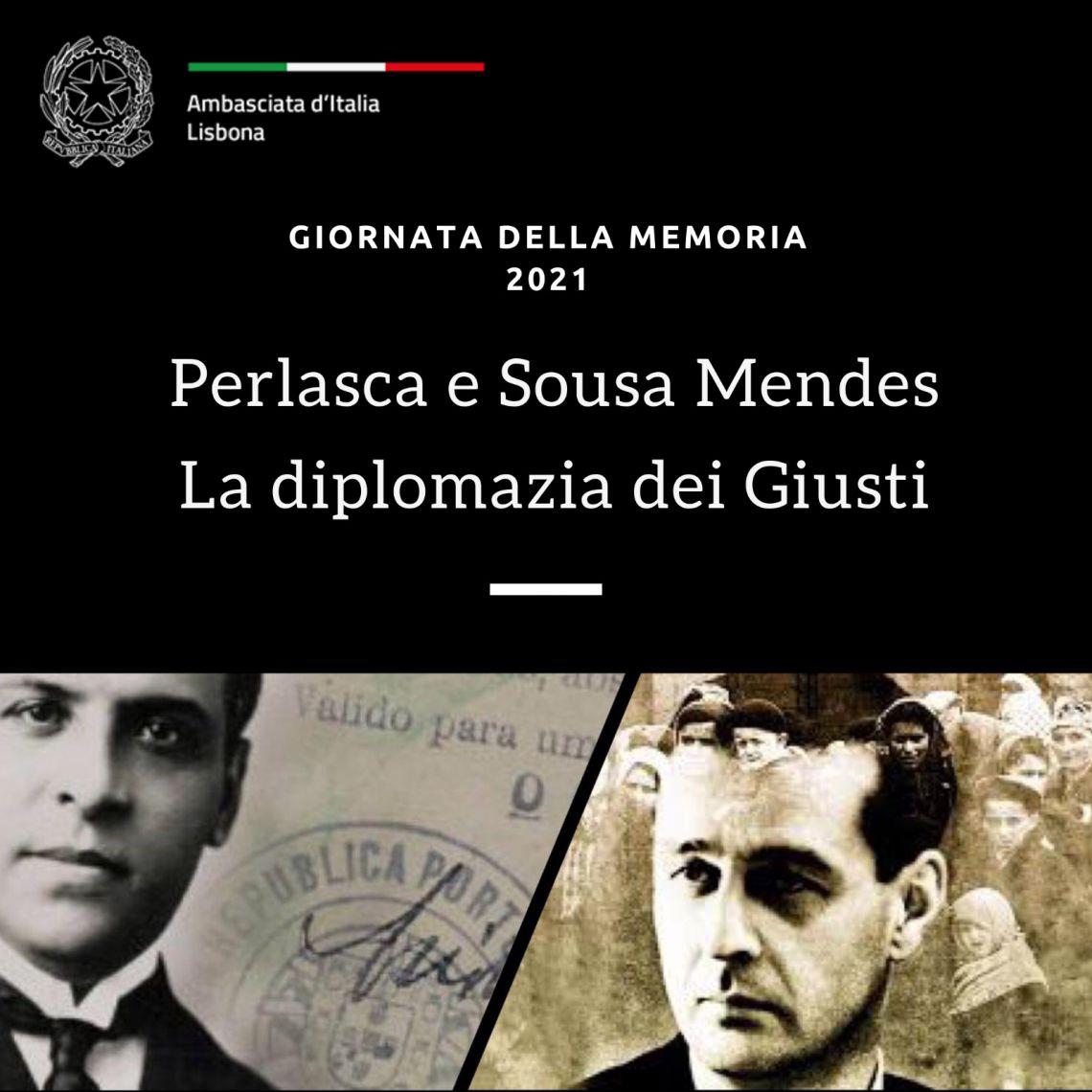 """Lisbona: """"Perlasca e Sousa Mendes: la diplomazia dei Giusti"""""""