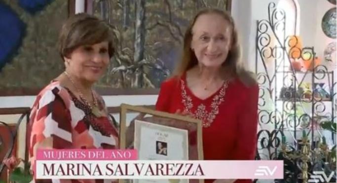 """Ecuador:Marina Salvarezza tra le donne dell'anno per la rivista """"hogar"""""""