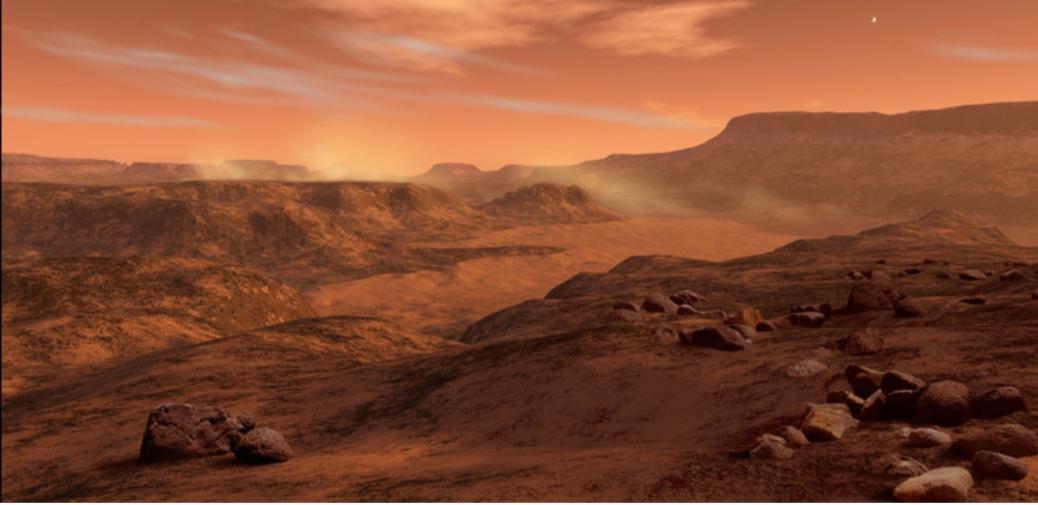 Una sonda degli Emirati Arabi è entrata nell'orbita di Marte