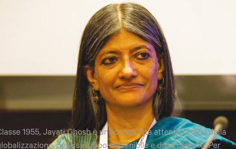 Non affidiamoci al mercato per uscire dalla crisi del Covid-19:parla  Jayati Ghosh