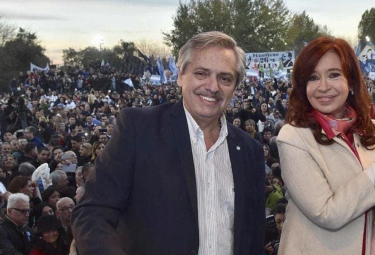 Alberto y Cristina, golpistas