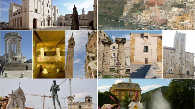 I love Puglia. I castelli