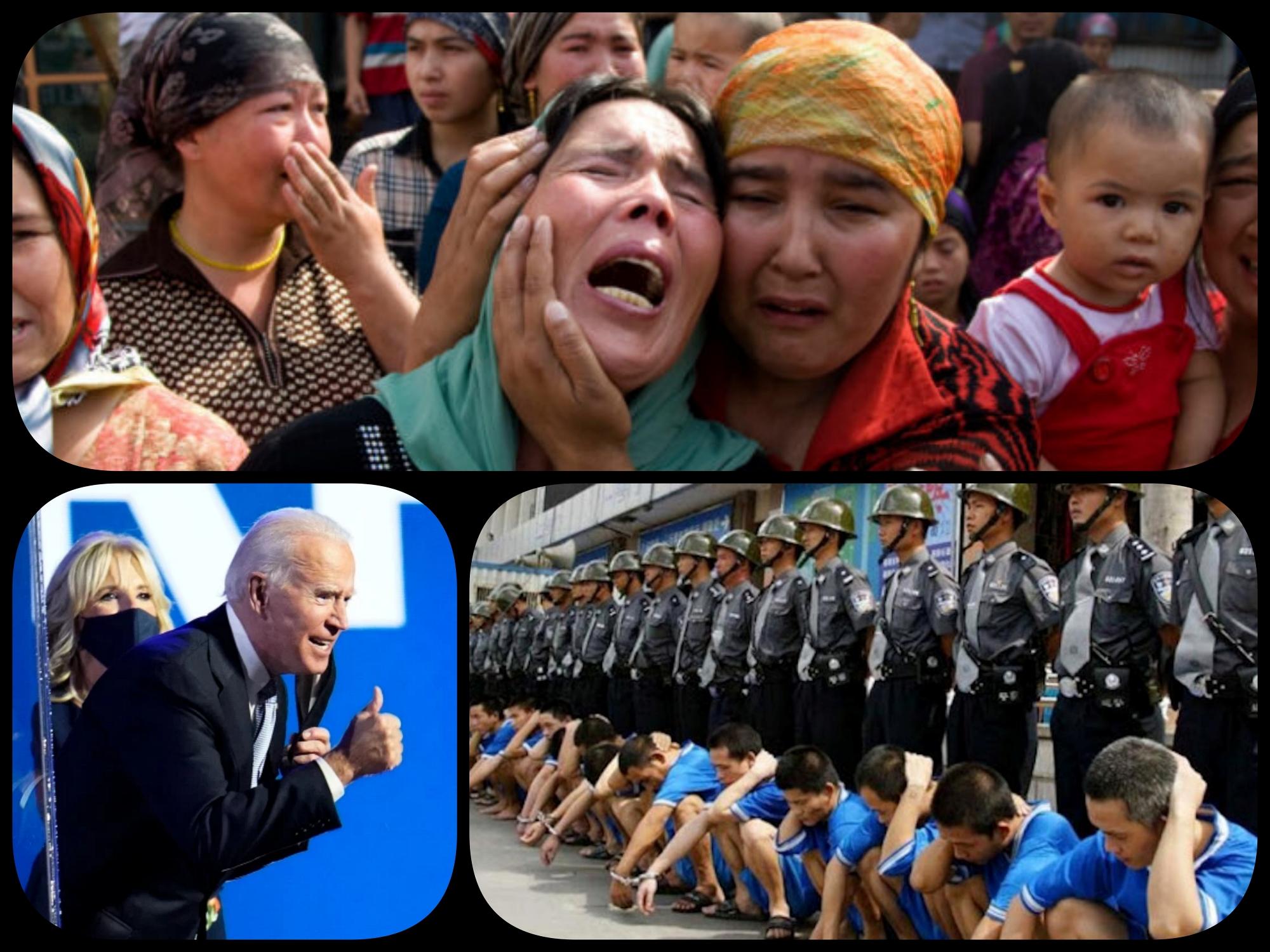Biden: non mi oppongo al genocidio degli Uiguri