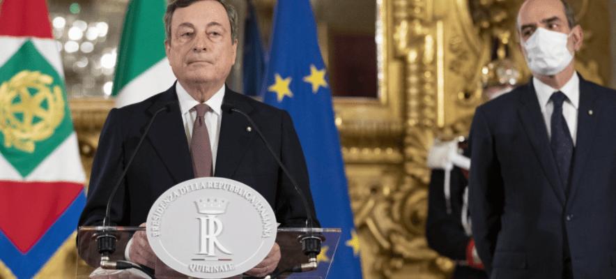 Ecco i nomi dei ministri. Nasce il governo Draghi