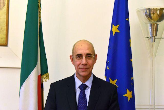 L'ambasciatore Mattiolo Consigliere Diplomatico di Draghi