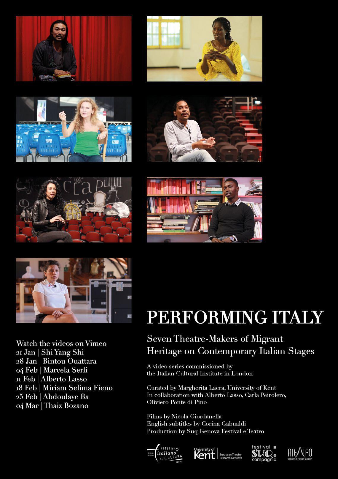 "Londra: il progetto ""Performing Italy"""