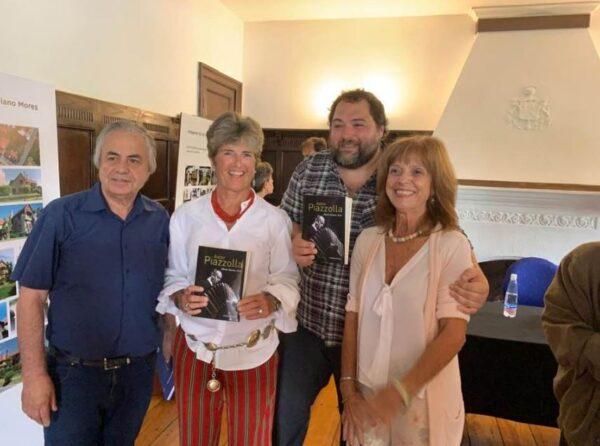 """Mar del Plata: la Federazione delle Società Italiane presenta """"Astor Piazzolla: una vita per la musica"""""""