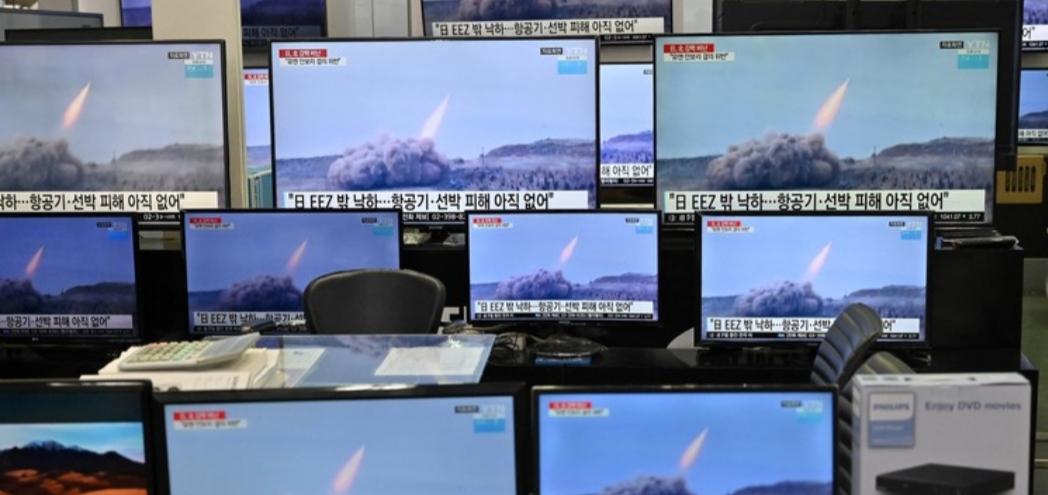 La Corea del Nord lancia altri missili balistici e sfida Biden