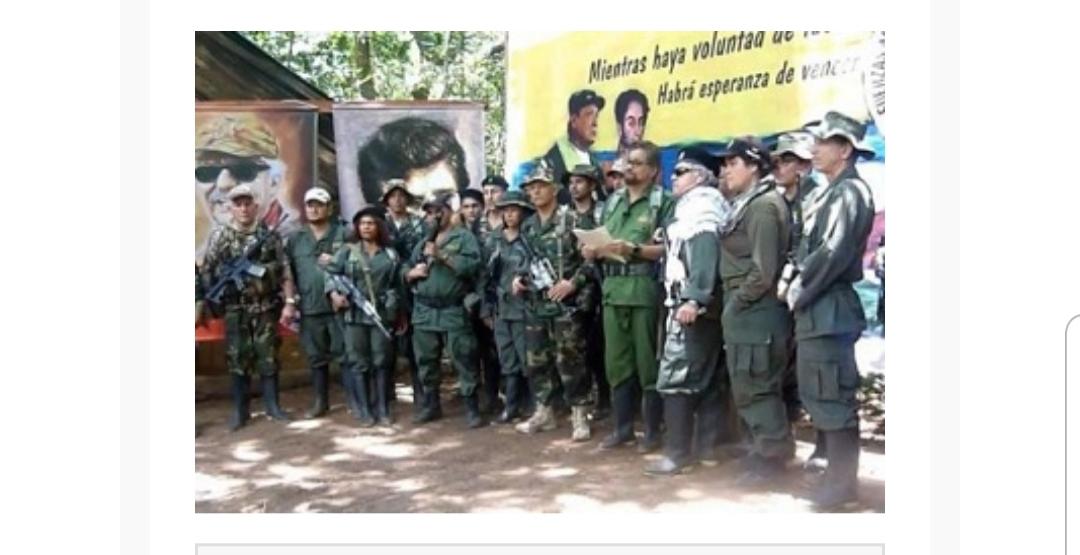 La guerriglia s'insedia in Venezuela