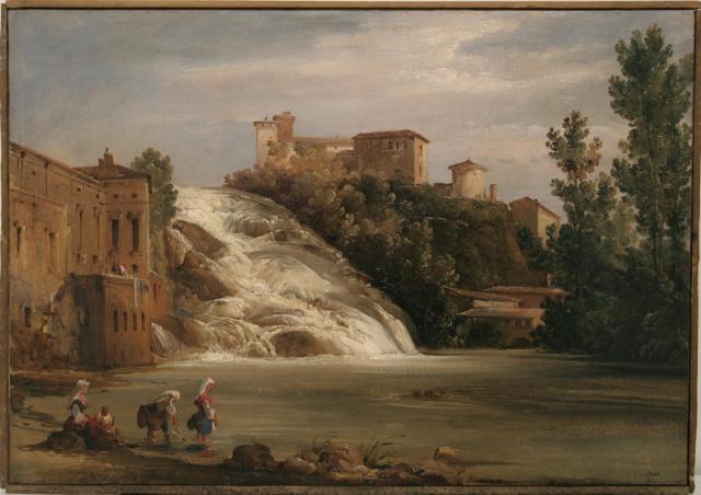 Le cascate di isola del Liri