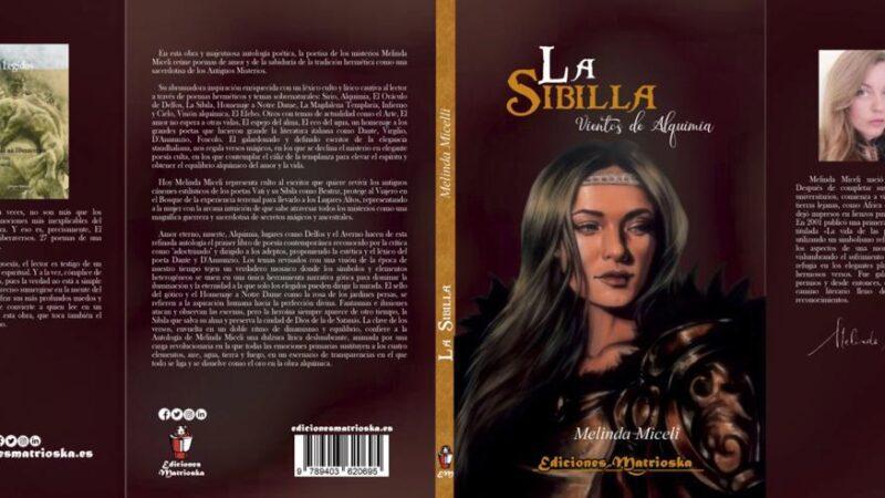 La Sibilla di Melinda Miceli rara pubblicazione internazionale nella storia della poesia