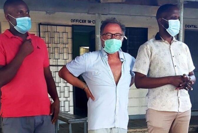 Kenya : Pasquale Tiritó aiuta la sanità della contea di Kilifi