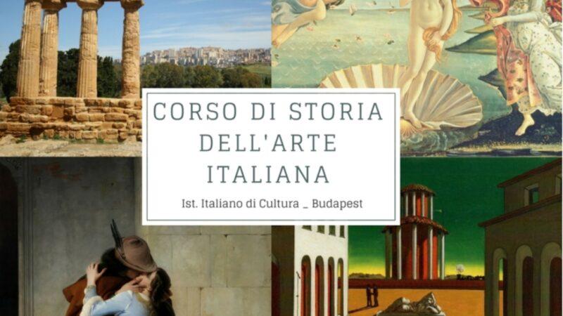 Budapest: quindici lezioni per conoscere l'arte italiana
