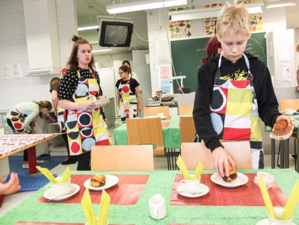 Kotitalous, l' economia domestica nelle scuole finlandesi