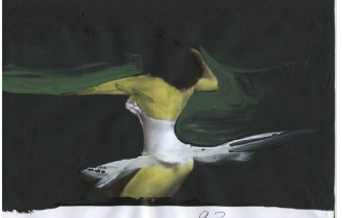 Ballerina:i bozzetti di Gianluigi Toccafondi entrano nella collezione Farnesina