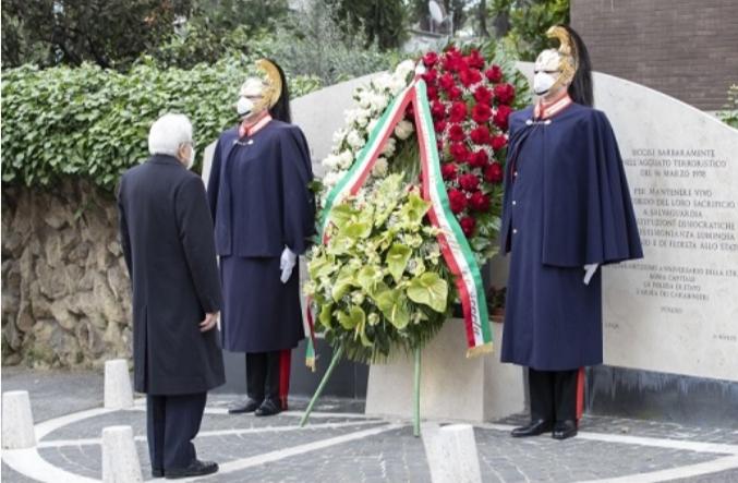 Rapimento Aldo Moro : Mattarella a via Fani
