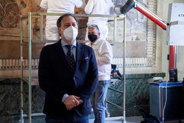 Napoli : Mosaico di Alessandro/ al via il progetto di restauro al MANN