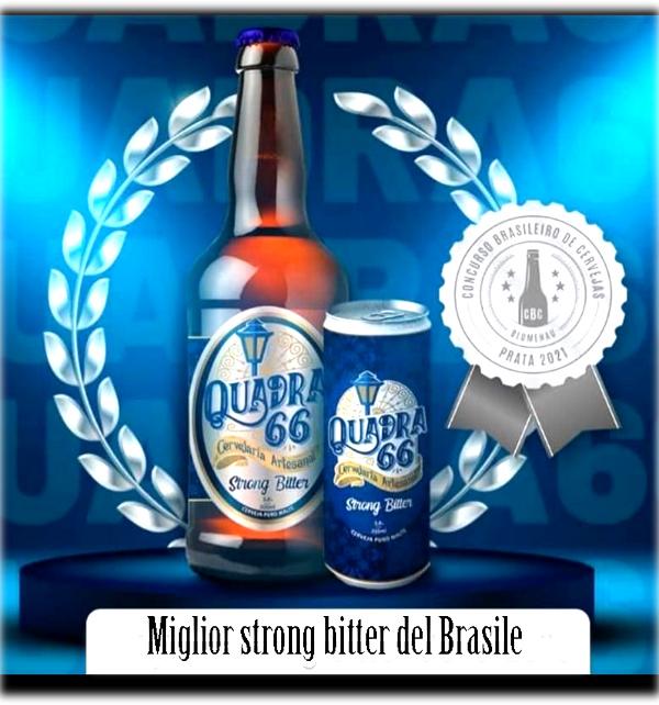 Un'eccellenza prodotta dall'imprenditore aquilano divenuta migliore birra del Brasile