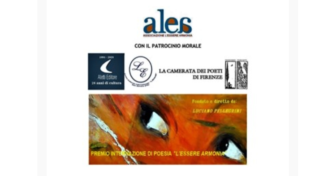 """Premio internazionale di Poesia """"l'essere armonia""""Assisi 2020-21"""