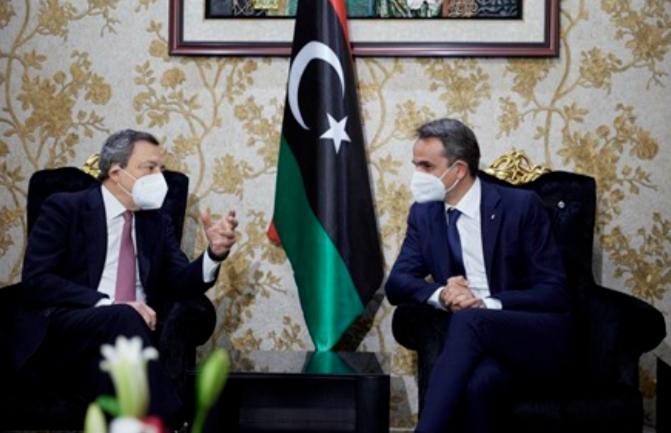 Incontro fuori programma a Tripoli