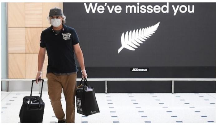 Bolla di viaggio tra Australia e NZ