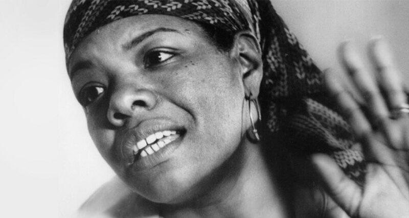Maya Angelou:eppure mi rialzo