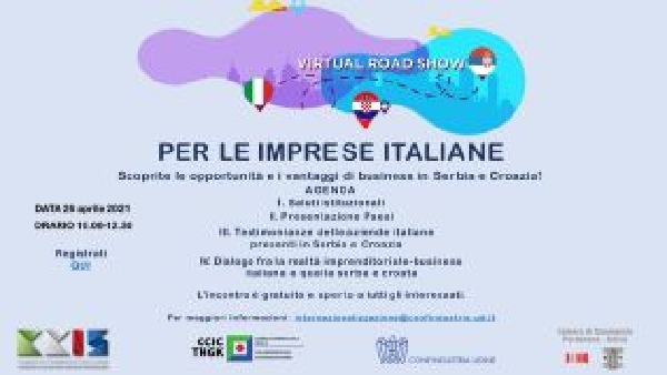 Fare business in Serbia e Croazia: lunedì il webinar per le pmi italiane