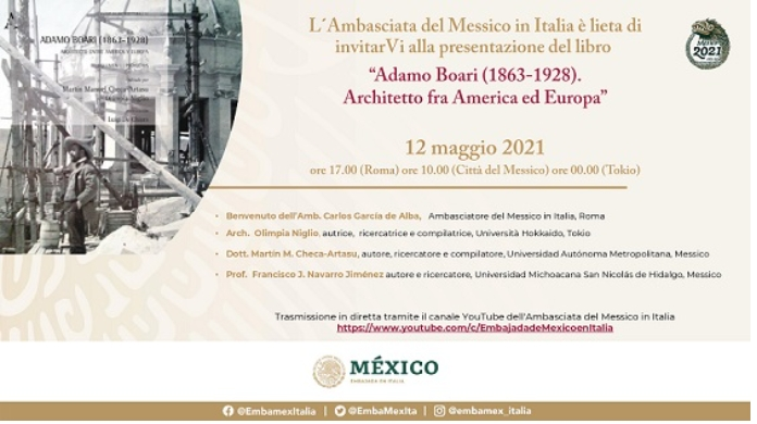 Adamo Boari (1863-1928) Arquitecto entre América y Europa