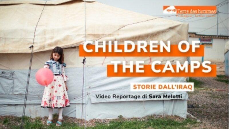 """Children Of the Camps, Storie dall'Iraq"""": online il videoreportage di Sara Melotti"""