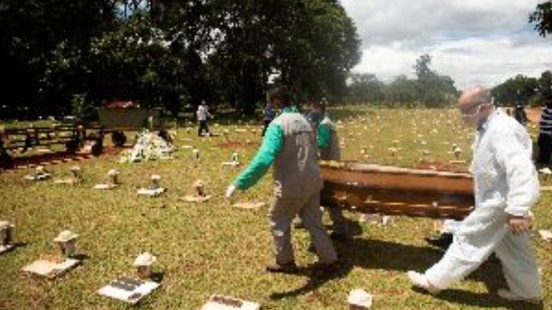 Brasile,i morti calano ma il virus non molla